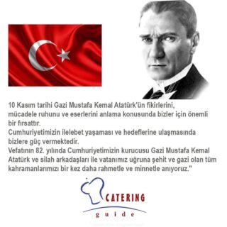 #atatürk #ata #cumhuriyet #anma #catering #cateringguidedergisi #türkiye www.cateringguidedergisi.com