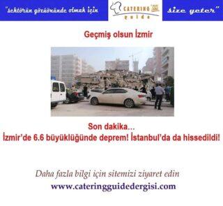 #İzmir #deprem #sondakika #Türkiye #cateringguidedergisi