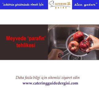 #meyvetabağı #parafin #sebzeyemekleri #saglikliyasam #cateringguidedergisi www.cateringguidedergisi.com